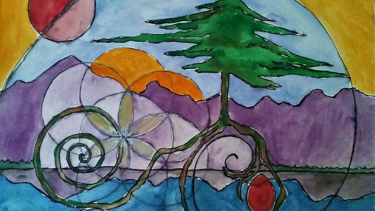 Image utilisée avec l'aimable autorisation de l'artiste, Ani Rose Whaleswan